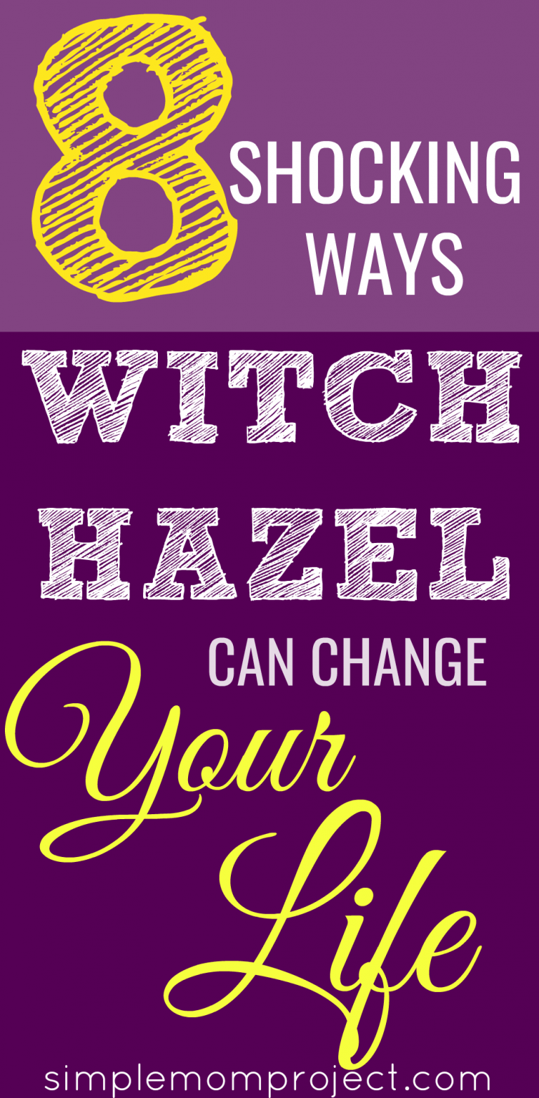 8 Shocking Ways Witch Hazel Can Change Your Life | Witch Hazel's benefits are astonishing. Its a toner, acne reducer and so much more. Find out how it can change your life today!
