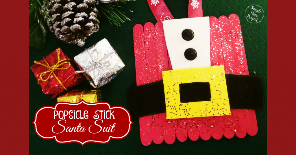 Have fun with these easy homemade Christmas Ornaments! Share in the classroom, at home, or to go along with your Sunday school lesson. These awesome Popsicle Stick Ornaments are easy enough for any kid to make for a gift ideas or to be hung on the Christmas tree!