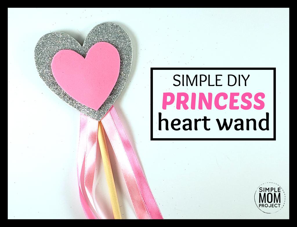 DIY Princess Heart Wand Tutorial
