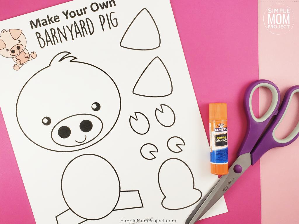 Pig Activities for Preschool Supplies