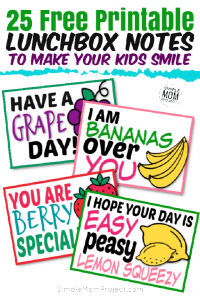 FREE Printable Lunchbox notes for kids with cute sayings (1)