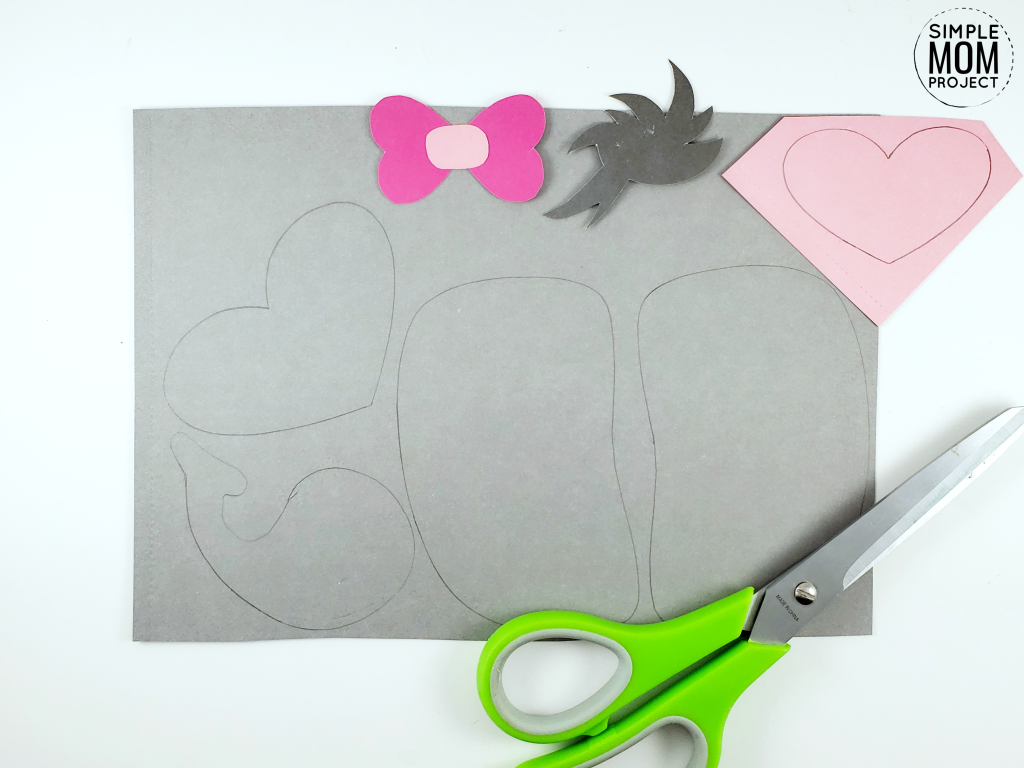 Paper Bag Elephant Craft for Preschoolers, Kids and toddlers free template