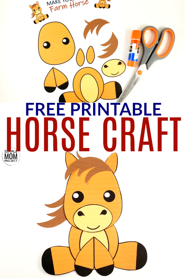 orse Craft for kids, preschoolers and toddlers Pin 4