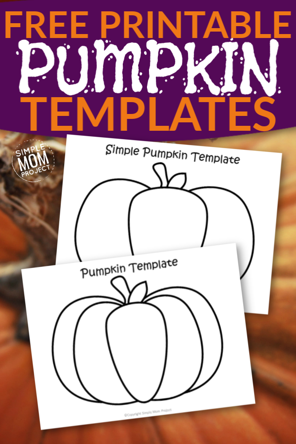 Click now to print these easy pumpkin templates for kids to color or to make a fun fall or autumn craft with! With large and small sizes, these pumpkin templates are perfect for any preschooler to color or a fun fall decor#pumpkin #pumpkintemplate #pumpkincoloring