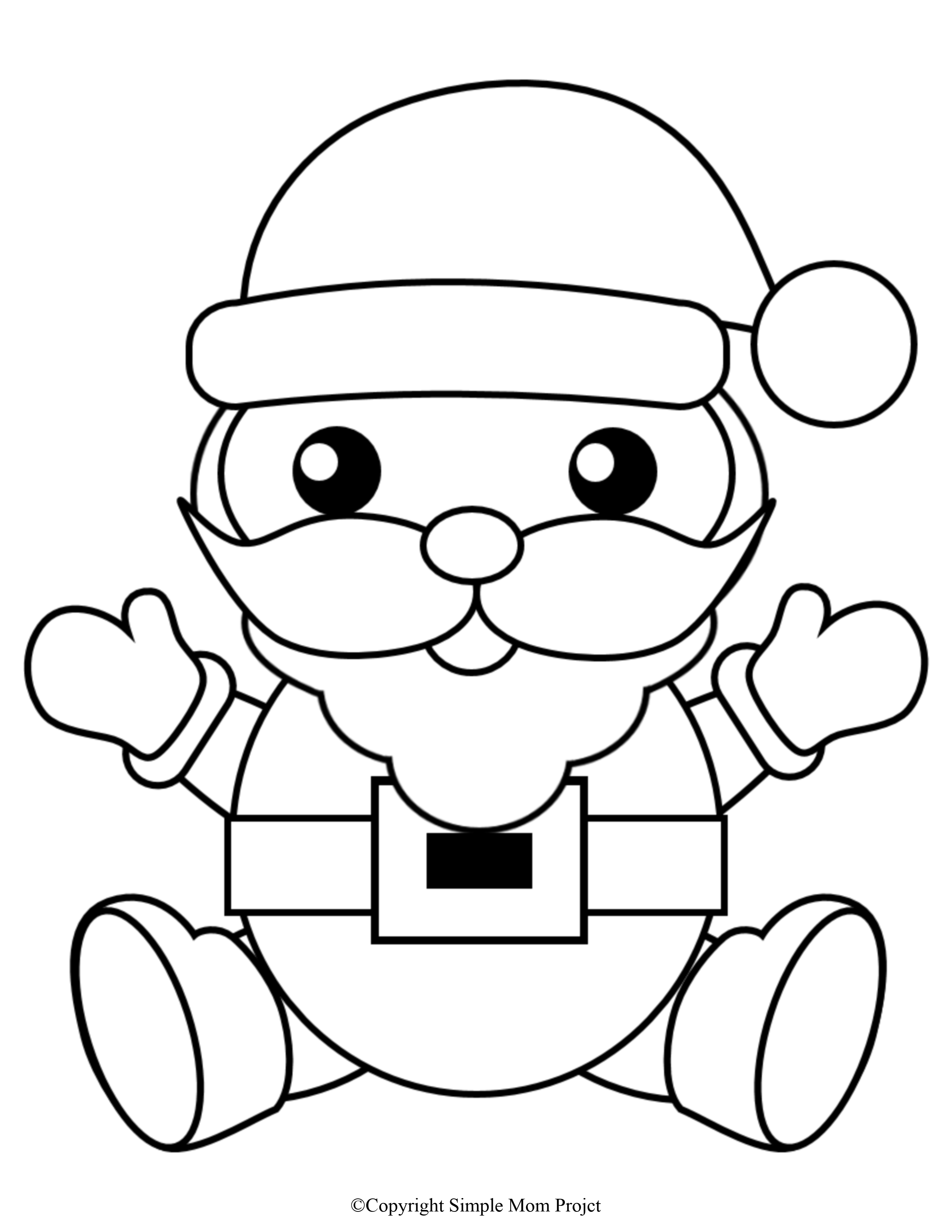 Free Printable Christmas Coloring Sheets for Kids and ...