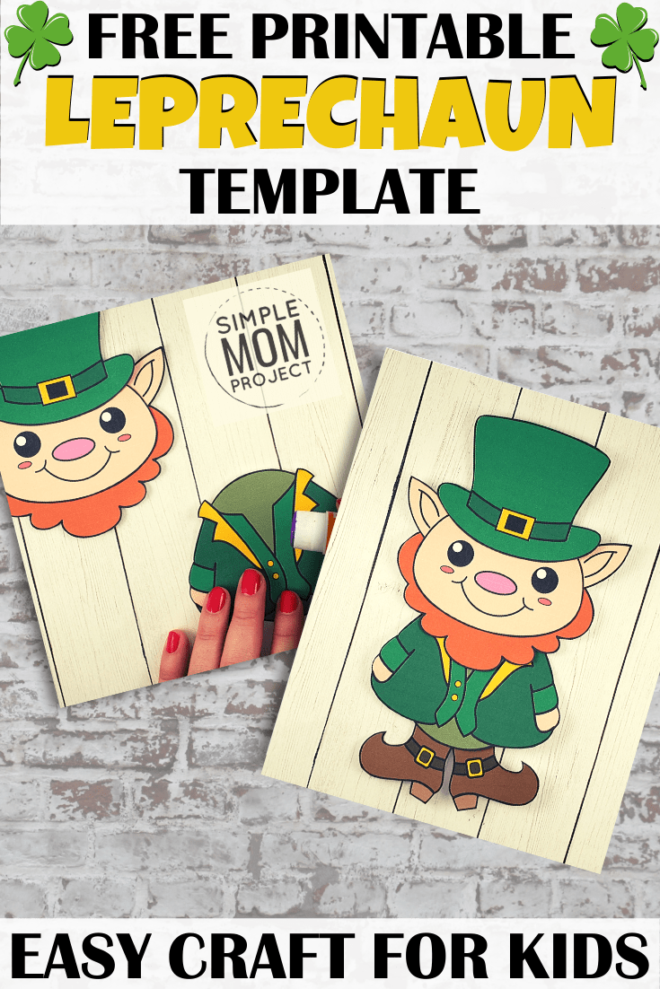 Free Printable Leprechaun Template