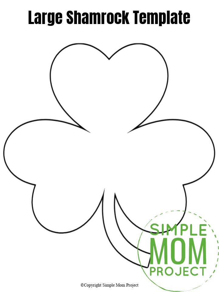 Free Printable Shamrock Coloring Pages For Kids | 960x720