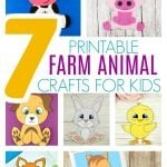 Click now to find and print your favorite farm friend to make any of these adorable farm animal crafts. With free printable templates, you and your preschooler, toddler or kindergartner can construct a whole farm! Use them at home, in your elementary school or in a daycare class! #FarmAnimalCrafts #FarmCrafts #FarmAnimalCraftsforKids