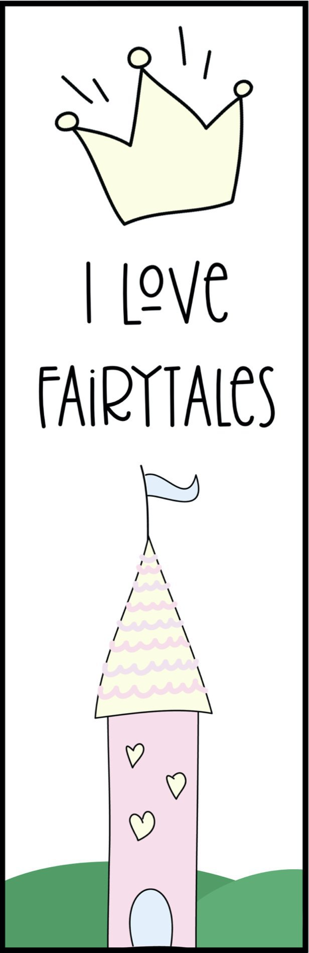 fairy tale bookmark