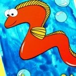Looking for your next ocean theme project? Use our free printable eel template to make this adorable eel craft! Click and find the easy tutorial to make this fun ocean art project. Perfect for kids of all ages including preschoolers and toddlers. #EelCrafts #OceanAnimalCrafts #OceanCrafts