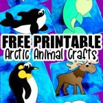 Looking for a fun and easy arctic animal craft idea to do with your preschooler this winter? Click to get these free printable arctic animal templates to make these adorable arctic animal crafts! With the step-by-step tutorials, these winter animal crafts are perfect for kids of all ages including kindergartners and toddlers! #arcticanimals #arcticanimalcrafts #winteranimals #winteranimalcrafts #SimpleMomProject