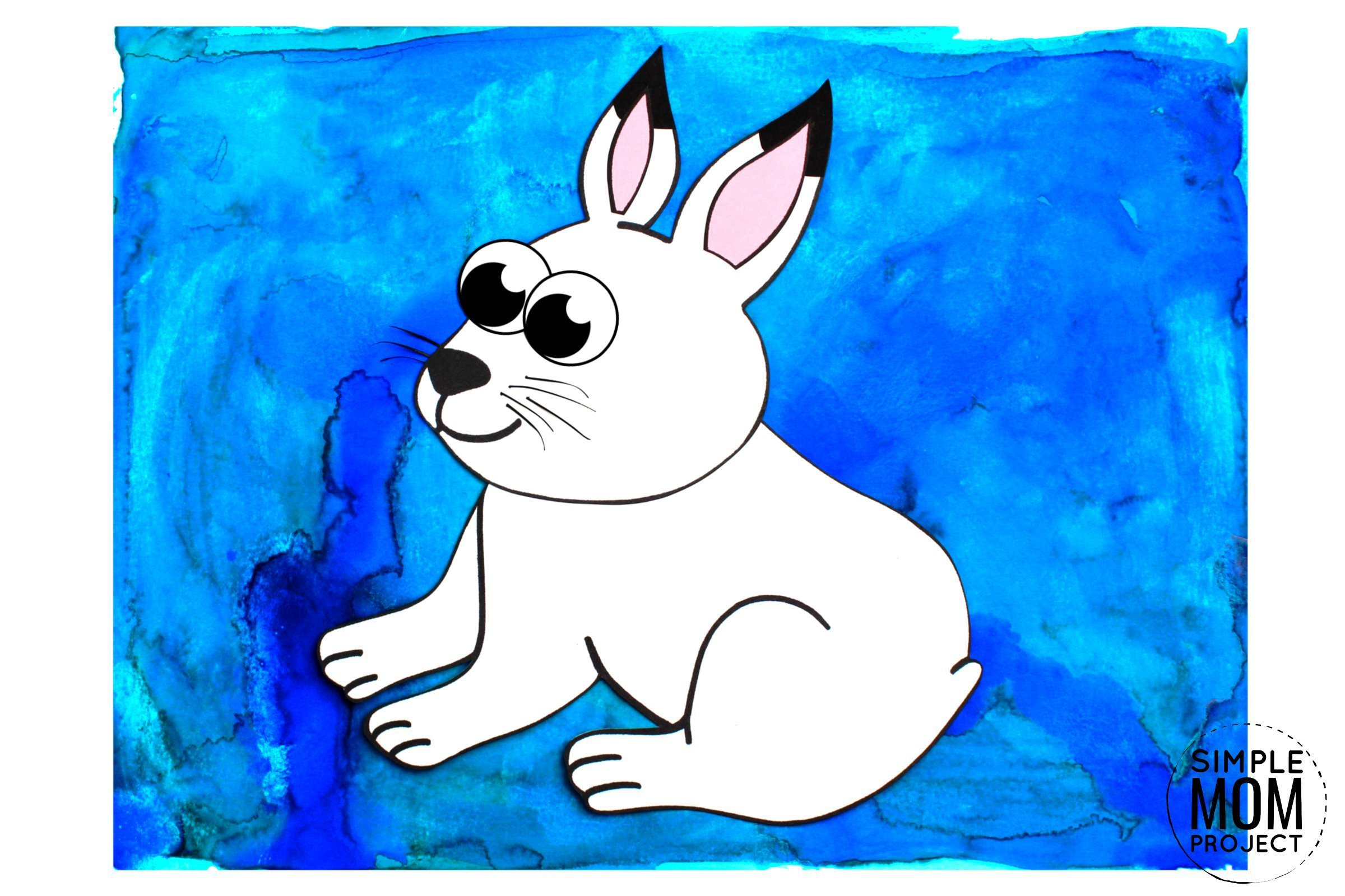 Free Printable Arctic Animal Hare Craft for Kids Preschoolers and Toddlers