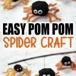 Are you looking to create this cute, itsy bitsy, spider craft in readiness for fall. With a free printable template, this 3D DiY spider craft makes a great climbing decoration for your home this fall. It's also a fun activity for toddlers & preschoolers to make as an art project. If you're looking for a fun autumn this year, click here to grab your easy spider craft template today! #Spidercrafts #Fallcrafts #Autumncrafts #SimpleMomProject