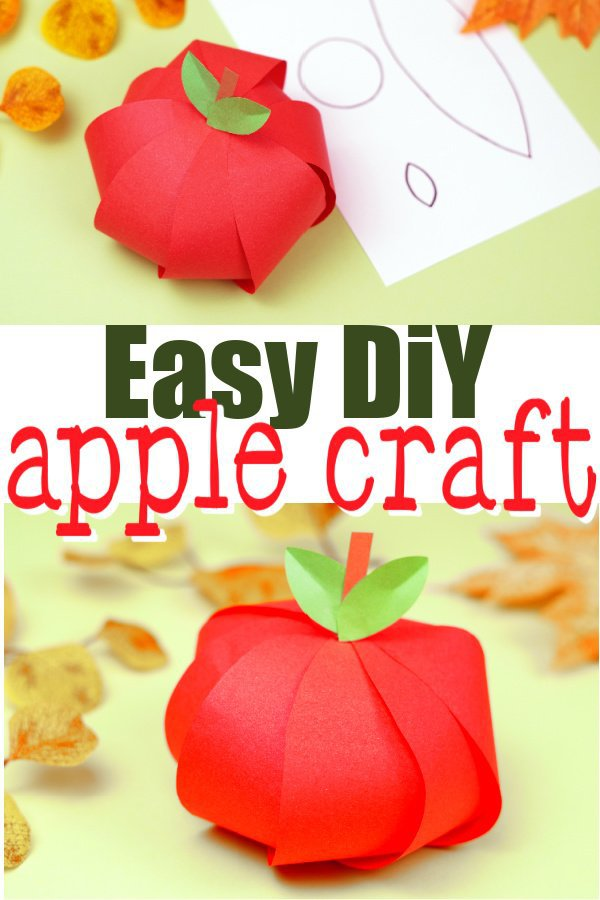 Here's a fun way for your kids to learn the Letter A with this easy apple craft. Click here to grab your free printable apple craft templates, then join in as your kids make this cute apple craft. This is a perfect craft for kids of all ages especially as an art project for preschoolers and toddlers or even family activity at home with big kids. Start learning the alphabet using your Apple craft today! #Applecraft #Applecraftsforkids #Summercraftforkids #Papercraftsforkids #SimpleMomProject