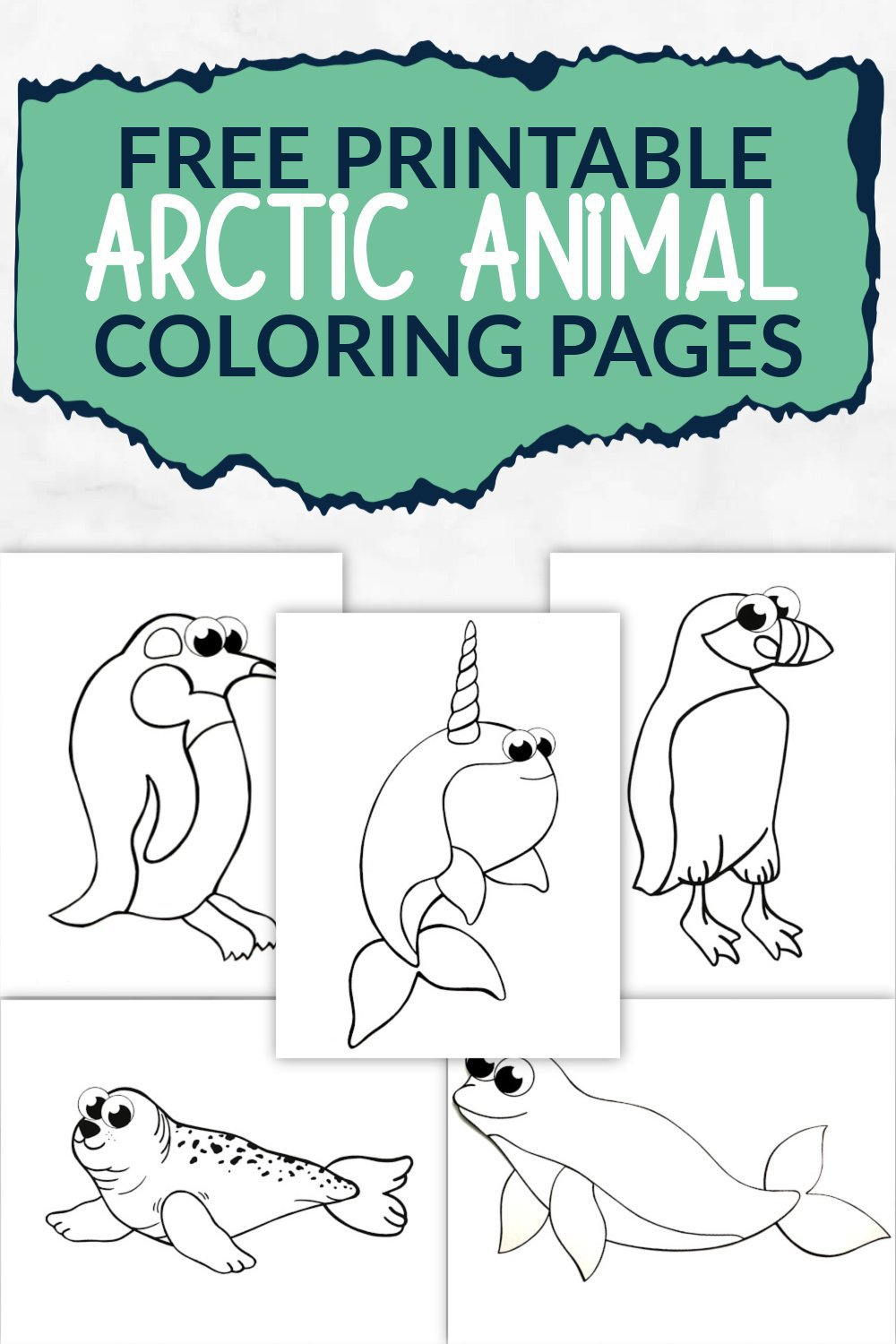 Free Printable Arctic Animal Coloring Pages Simple Mom Project