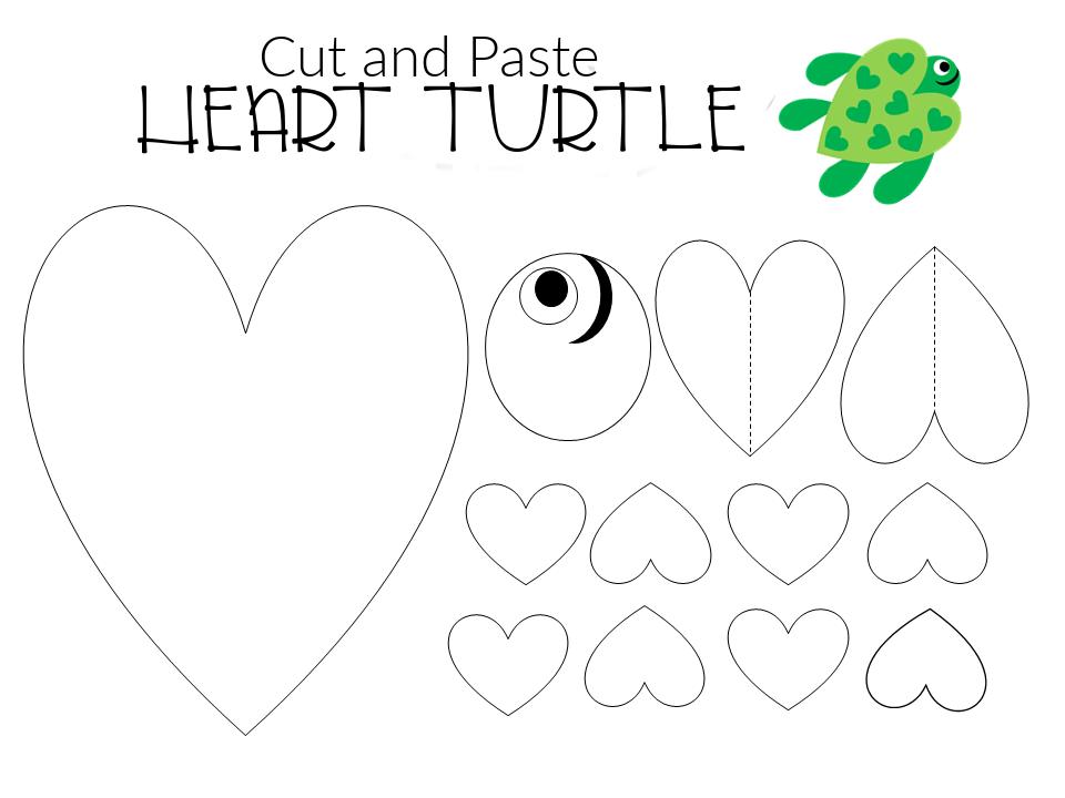 FREE and Easy Printable Diy Turtle Craft for Preschool, toddler, kindergarten