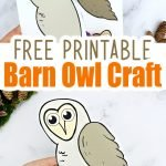 Here's a super easy cut & paste Barn Owl craft for your toddlers, preschoolers or kindergartners to create. With a simple & free printable Barn Owl template, this paper craft is a fun way to learn the Letter O or decorate your wall with wise old Owls. Our Barn Owl crafts are ideal for toddlers, preschoolers & kindergartners as simple art projects or decorative cards for special friends. Get your free printable Barn Owl craft today! #barnowl #barnowlprintable