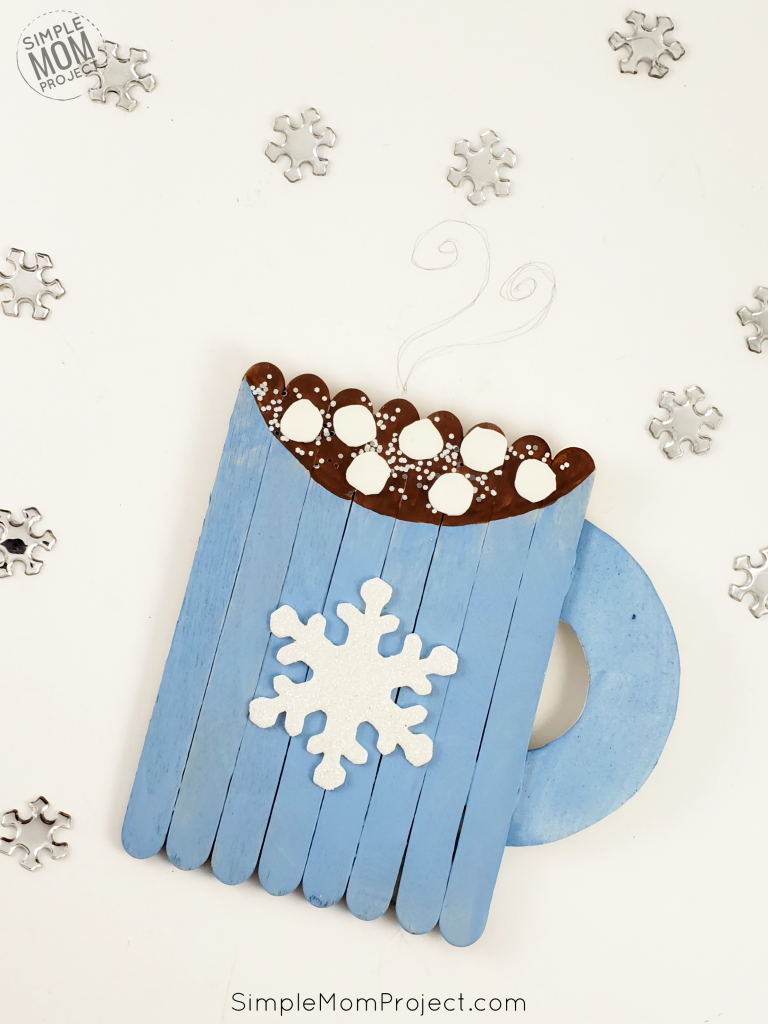 Hot Chocolate Popsicle Stick Craft 1