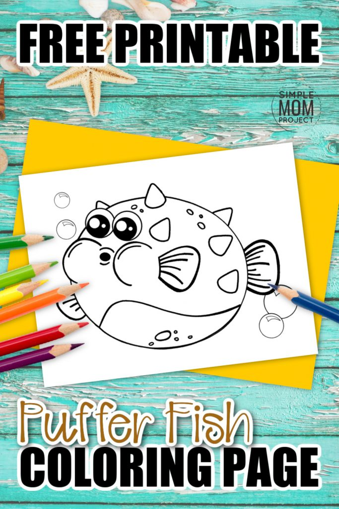 Here's a fun way to learn about the colorful animals in our oceans - this free printable Puffer Fish Coloring page has long been a favorite in our house so I'm sure your kids will love it too! Use the simple Puffer Fish template to create your own sea theme crafts and decorate them with your favorite watercolors! This Puffer Fish Coloring page will brighten any bedroom wall so grab your free printable Puffer Fish coloring page template & enjoy the beauty of all Ocean animals