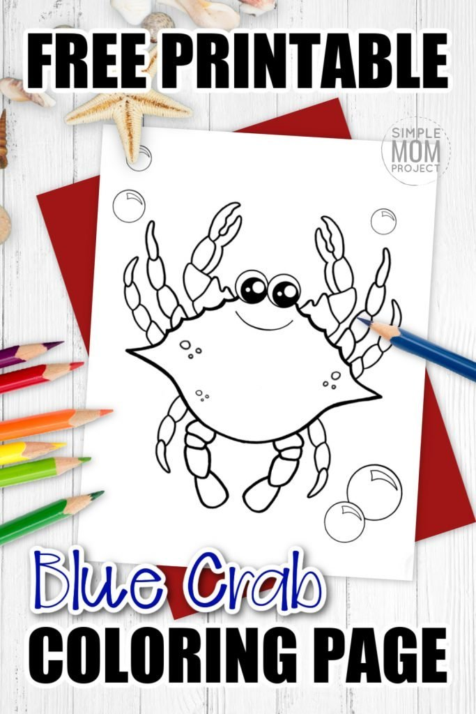 Your kids will have a world of fun Learning the Letter C using this awesome Blue Crab coloring page. This free printable Blue Crab coloring page is an ideal sea themed craft for all preschoolers & toddlers. So get out coloring pencils, crayons or watercolors - this cute Blue Crab coloring page is just waiting to join your family today!