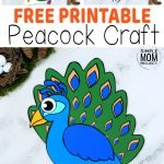 Welcome to the exciting & colorful world of Peacock crafts! Here's our fun & free printable Peacock craft for your kids to enjoy. Whether as a winter craft activity or an art project for homeschool, your toddlers, preschoolers & kindergartners will love the color this Peacock craft creates. Add this cute diy Peacock craft to your kids bird craft collection today by printing your free Peacock templates! #Peacockcrafts #Peacockprintabletemplates