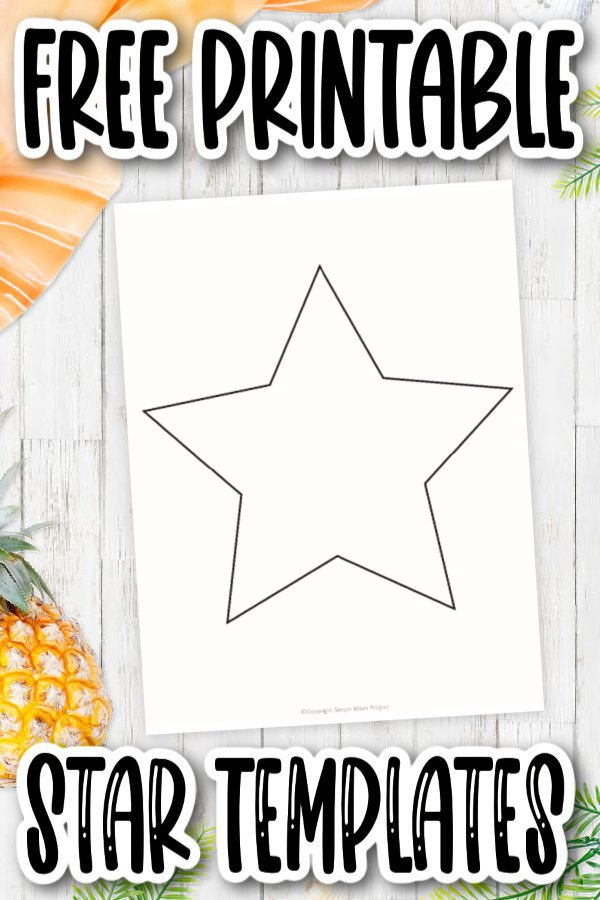 The full page, small and medium star templates are perfect for teaching the letter S. Color it yellow, gold or whatever color you'd like! It is completely editable. See the twinkle in their eyes as you watch your kids coloring their stars or decorating these star templates in their next art project. Click and download these free printable, small, medium and large star templates now!