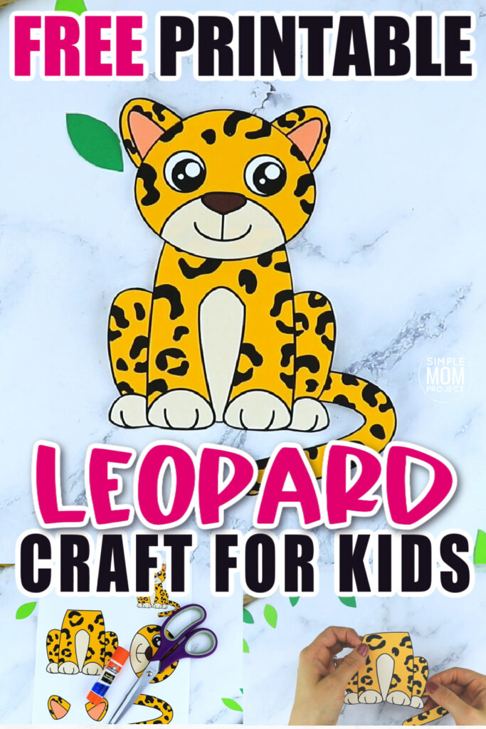 Do your kids love tigers and cheetahs and lions? Then they are sure to love this leopard craft too! It is no Dr Seuss animal, but your preschooler or kindergartner student will have a blast piecing together this printable leopard template. Click and download yours today!