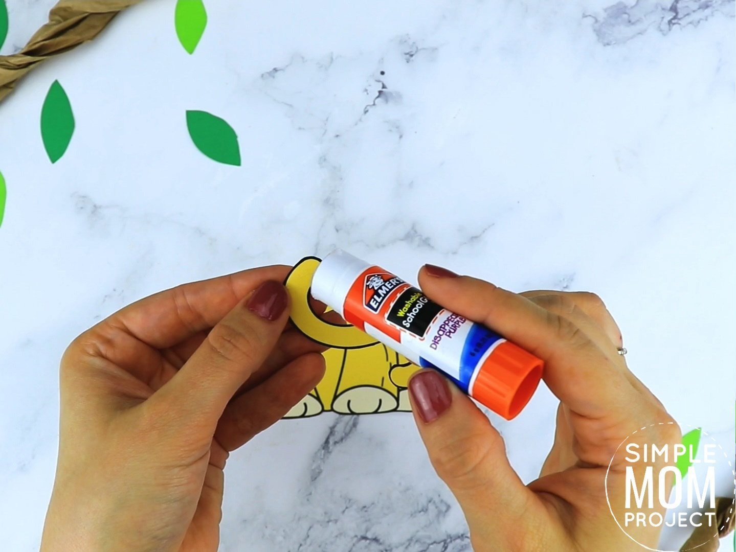 Free Printable Lion Craft for preschoolers, toddlers and kindergartners