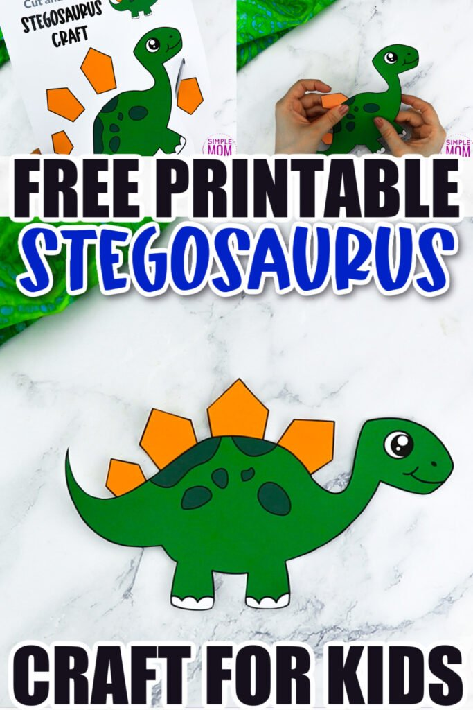 Does your preschooler love Jurassic park? What about puzzles? Look no further because this fun stegosaurus craft is perfect for your little one! With the free printable stegosaurus template, your kids can build their very own dinosaur friend. Click now to download and print the free stegosaurus dinosaur template today!