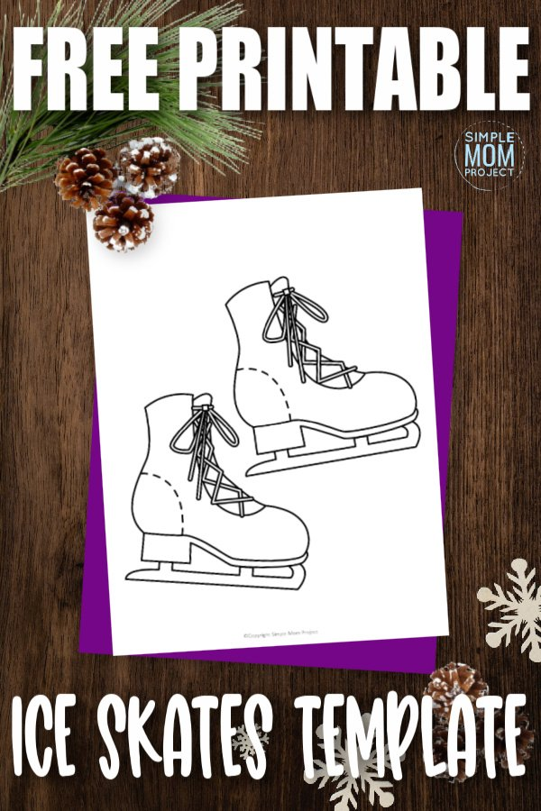 Are you having an ice skating party? Why not use these free printable ice skate templates as fun invitations? You can also think up fun craft ideas to do with the kids at the party with these ice skate printable templates. You can even turn this ice skate template into a writing prompt activity with your kindergarten class. Click to download your free printable ice skate template today!