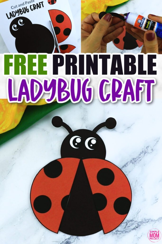 Are you looking for a fun and simple way to teach the letter L to your preschooler or toddler? This printable ladybug craft is a realistic, but grouchy way to do so! Spring right into this craft by downloading and printing the free ladybug template and gluing it on to a handprint or footprint painting.