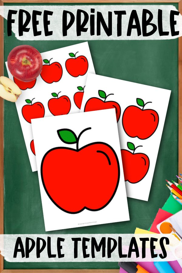 Are your kids looking for nice bright red & green apple templates for their spring time crafts? Here's some easy & free printable apples templates for them to use in both large and small sizes with both red & green apple designs available. What a great way to make simple fruit for your diy apple tree. Click here to grab your free printable red & green apple templates today!