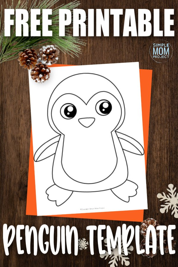 Are you looking for a cute penguin outline for your next cut out paper craft? Use our simple and easy blank penguin template that can be downloaded and printed within seconds. Turn the penguin template into a coloring art activity or you can use it for a fun sewing or felt project. Print your penguin template now.