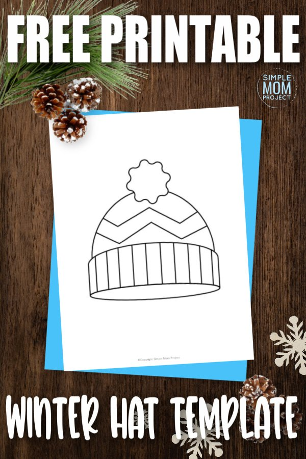 Do your kids love dressing up in their favorite winter clothes? Are you able to get them to wear a snow hat? If you have troubles, try using this free printable snow or winter hat template as a fun coloring page activity. With their gloves, scarf and mittens ready, they will have a blast outside and in with this free printable snow and winter hat template.