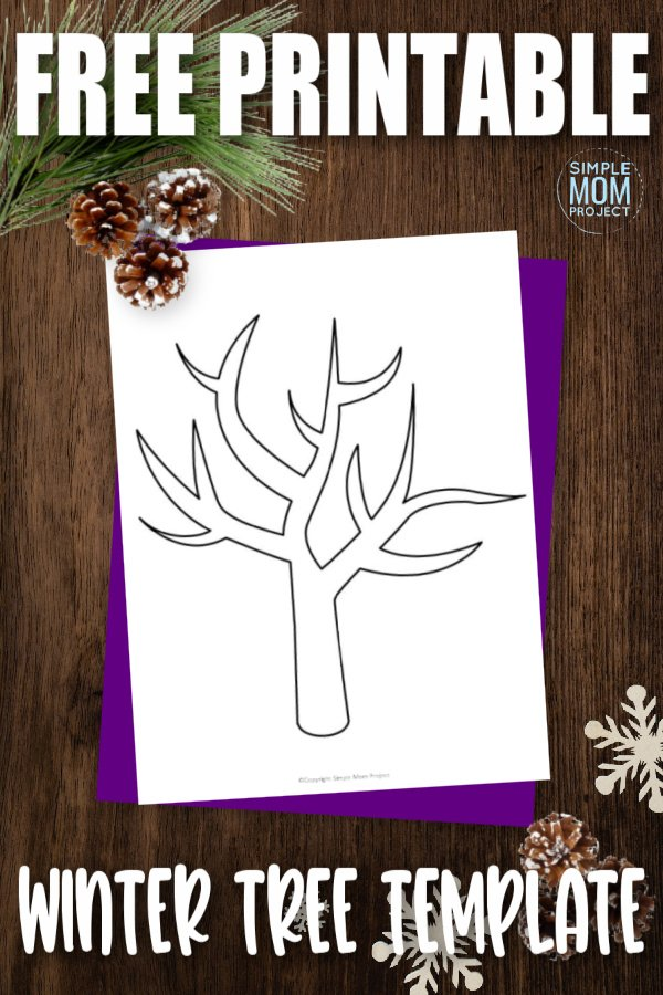 Bare trees are a good sign that autumn is coming to an end and winter is beginning. As you go over the four seasons with your little one, why not use our free printable winter tree template? If you are going over summer, use fingerprint painting with green or cut and glue to a black piece of paper and paint white dots for snow. Click now to download and print this free winter template today.