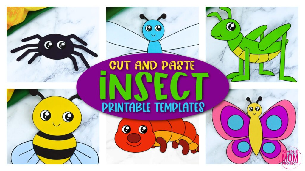 Looking for the easy bug character crafts for your preschoolers or toddlers? These cute insect crafts have fun cut and paste templates to keep toddlers, preschoolers or even big kids amused for hours! Including our popular butterfly craft, caterpillar craft and bumblebee craft and many more these are sure to be a big hit with your kids for fun craft activities or even homeschooling lessons. Click now to grab these awesome bug craft templates today.