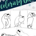 I love that! What better way to bring fun to homeschooling than with the help of these simple Arctic Animal coloring pages. Use our cute Baby Harp Seal, wily Arctic Fox or Proud Emperor Penguin to learn the alphabet and create fun coloring pages. They're ideal for toddlers, preschoolers or kindergartners who love art projects, so click here and get your printable Arctic Animal coloring pages today! #ArcticAnimalcoloringpages #ArcticAnimalcoloringsheets #ArcticAnimalcrafts #SimpleMomProject