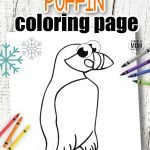 Here's a new way to Learn the letter P, with the help of our Arctic Puffin coloring page. Your kids will have heaps of fun with the cut out and color activity for this Puffin coloring page. Choose to use this as a simple homeschool activity or maybe an art project for toddlers in preschool or kindergarten. Either way, it's an easy way to learn about arctic animals. Click here to get your free Puffin coloring page today! #Puffincoloringpages #Arcticanimalcoloringpages #Coloringpagesforkids #SimpleMomProject