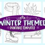 Grab these easy, printable winter Themed templates for winter decor, winter crafts and elementary school teachers, students preschoolers and toddlers. Turn them into a fun fall banner or winter activity for your kids. Easily click and download your set of our winter templates today!