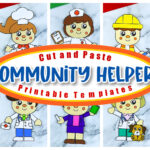 Are you looking for a fun way to enhance your lesson plan for your pre-k or kindergarten class while you work on the community helpers theme? Look no further because these community helper crafts are a fun way to enhance fine motor skills, literacy and math all at the same time! From nurses to farmers, a chef and a mail carrier, there's a community helper activity for your kindergartener, preschooler or toddler!