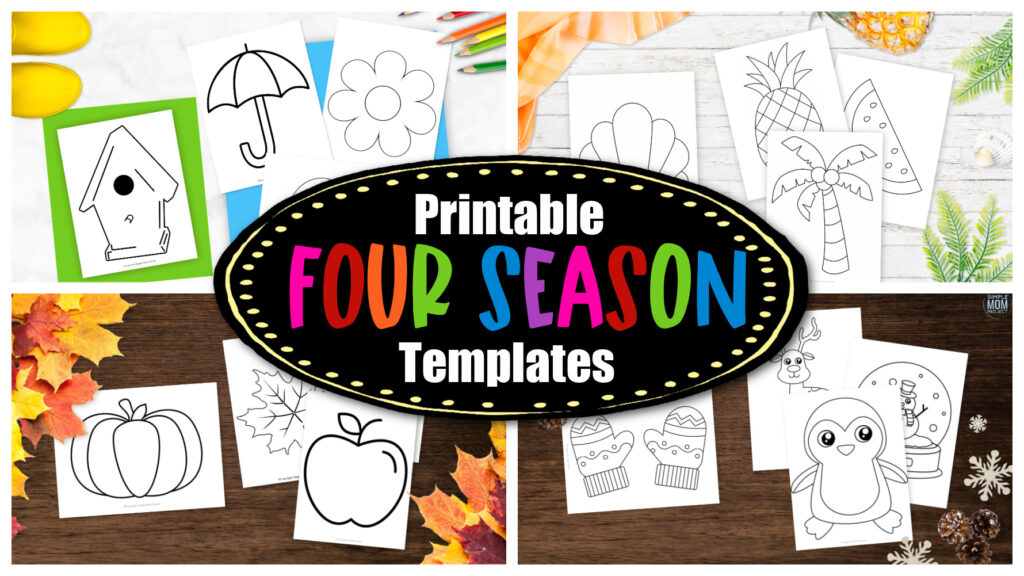 Looking for a one stop place for templates for the entire year? These printable templates are great for every season! Click now to download and print our four season template bundle now!
